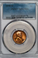 1935-S LINCOLN CENT PCGS MINT STATE 65RD REFLECTIVE RED GEM 34810078