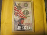 CRACKED CASE 1927 STANDING LIBERTY QUARTER,1911 BARBER DIME,1911 LIBERTY NICKEL