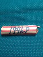 1946-P CIRCULATED WHEAT CENT ROLL.
