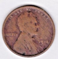 1914 LINCOLN CENT IN GOOD  CONDITION  L14-966