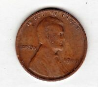 1909 LINCOLN CENT IN  GOOD CONDITION  STK 1050