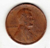 1909 LINCOLN CENT IN  GOOD CONDITION STK 1006