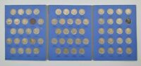 COMPLETE SET - 64 COINS - BUFFALO NICKELS 1913-1938 5244