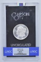 MINT STATE 62 1878-CC MORGAN SILVER DOLLAR - GSA HOARD - NGC GRADED 7062