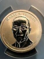 2015 P HARRY TRUMAN CHRONICLES ANACS RP70 REVERSE PROOF PR FIRST STRIKE COIN