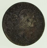 1798 DRAPED BUST LARGE CENT - CIRCULATED 9726