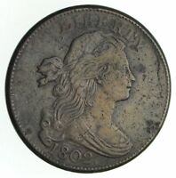 1802 DRAPED BUST LARGE CENT - CIRCULATED 4798