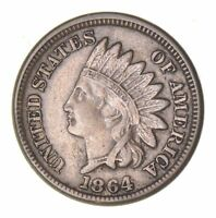 1864 INDIAN HEAD CENT - COPPER-NICKEL - CIRCULATED 8059
