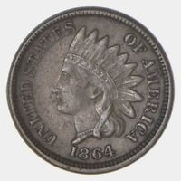 1864 INDIAN HEAD CENT - COPPER NICKEL - CIRCULATED 5796