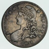 1834 CAPPED BUST HALF DOLLAR - CIRCULATED 3574