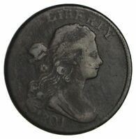1801 DRAPED BUST LARGE CENT - CIRCULATED 1879