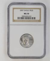 MS70 2007 $25.00 EAGLE - NGC GRADED 3244