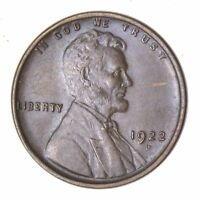 1922-D LINCOLN WHEAT CENT - CIRCULATED 8042