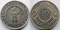 NETHERLANDS ANTILLES  10 CENTS  1991