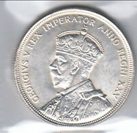 1935 CANADIAN SILVER DOLLAR   ZOELL ERROR NO. R501G   VOYAGEUR & INDIAN DOUBLING