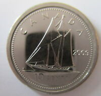 2009 CANADA 10 CENTS PROOF LIKE DIME COIN