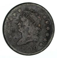1810 CLASSIC HEAD LARGE CENT - CIRCULATED 1313
