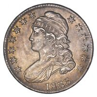 1833 CAPPED BUST HALF DOLLAR - CIRCULATED 8099