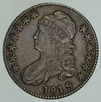 1819/8 CAPPED BUST HALF DOLLAR - CIRCULATED 4646