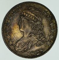 1828 CAPPED BUST HALF DOLLAR - CIRCULATED 4617
