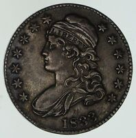 1833 CAPPED BUST HALF DOLLAR - CIRCULATED 4622