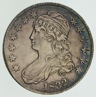 1832 CAPPED BUST HALF DOLLAR - NEAR UNCIRCULATED 4587
