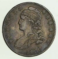 1833 CAPPED BUST HALF DOLLAR - CIRCULATED 1350