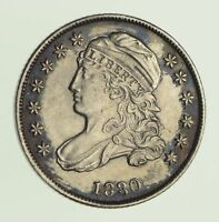 1830 CAPPED BUST DIME - CIRCULATED 9743