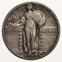 1927-S STANDING LIBERTY QUARTER - CIRCULATED 1461