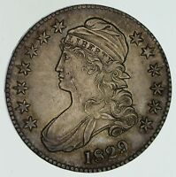 1829 CAPPED BUST HALF DOLLAR - CIRCULATED 4578