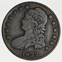 1832 CAPPED BUST HALF DOLLAR - CIRCULATED 0189