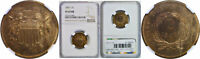 1867 TWO CENT PIECE NGC PF-65 RB