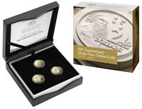 AUSTRALIA 2018 $2 30TH ANNIVERSARY 3 COIN PROOF SET LOW MINT