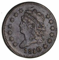 1810 CLASSIC HEAD LARGE CENT- CIRCULATED 1944