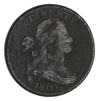 1803 DRAPED BUST LARGE CENT - CIRCULATED 1303