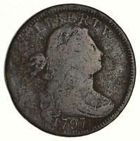 1797 DRAPED BUST LARGE CENT S-128 - CIRCULATED 6205
