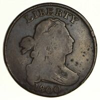 1800 DRAPED BUST LARGE CENT S-211 - CIRCULATED 6204