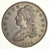 1834 CAPPED BUST HALF DOLLAR - CIRCULATED 6131