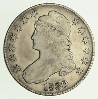 1830 CAPPED BUST HALF DOLLAR - CIRCULATED 4172