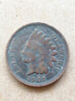 1907 INDIAN HEAD PENNY  1 C