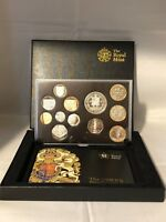 THE ROYAL MINT 2009 UK PROOF COIN SET KEW GARDEN 50P
