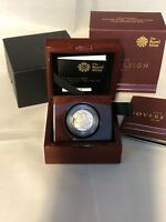 2015 UK FOURTH PORTRAIT GOLD PROOF SOVEREIGN BOXED WITH ROYA