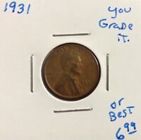 1931 1C BN LINCOLN CENT