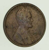 1914-D LINCOLN WHEAT CENT - CIRCULATED 4679
