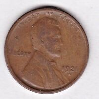 1921 S LINCOLN CENT GRADING IN  GOOD  CONDITION STK 21-7