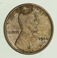 1914-D LINCOLN WHEAT CENT - CIRCULATED 4692