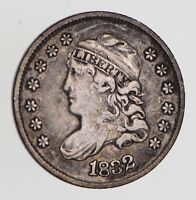 1832 CAPPED BUST HALF DIME - CIRCULATED 7694