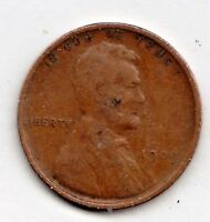 1909 LINCOLN CENT IN  GOOD CONDITION STK LVG-34