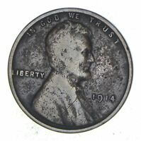 1914-D LINCOLN WHEAT CENT - CIRCULATED 8235