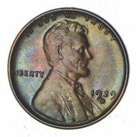 1929-D LINCOLN WHEAT CENT - NEAR UNCIRCULATED 8238